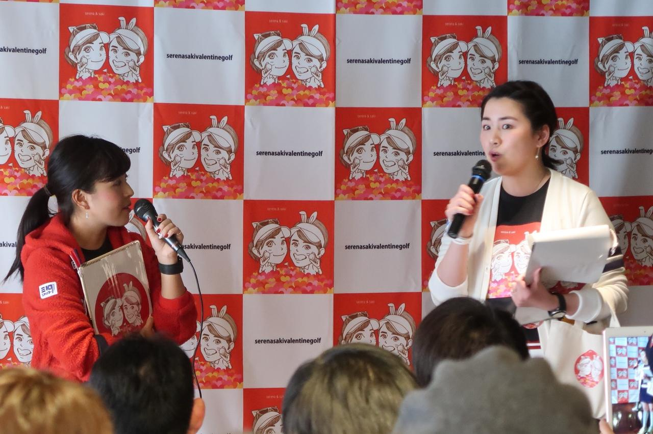 画像: 左が青木、右が岡村。息のあった2人の掛け合いは見ていて楽しい!