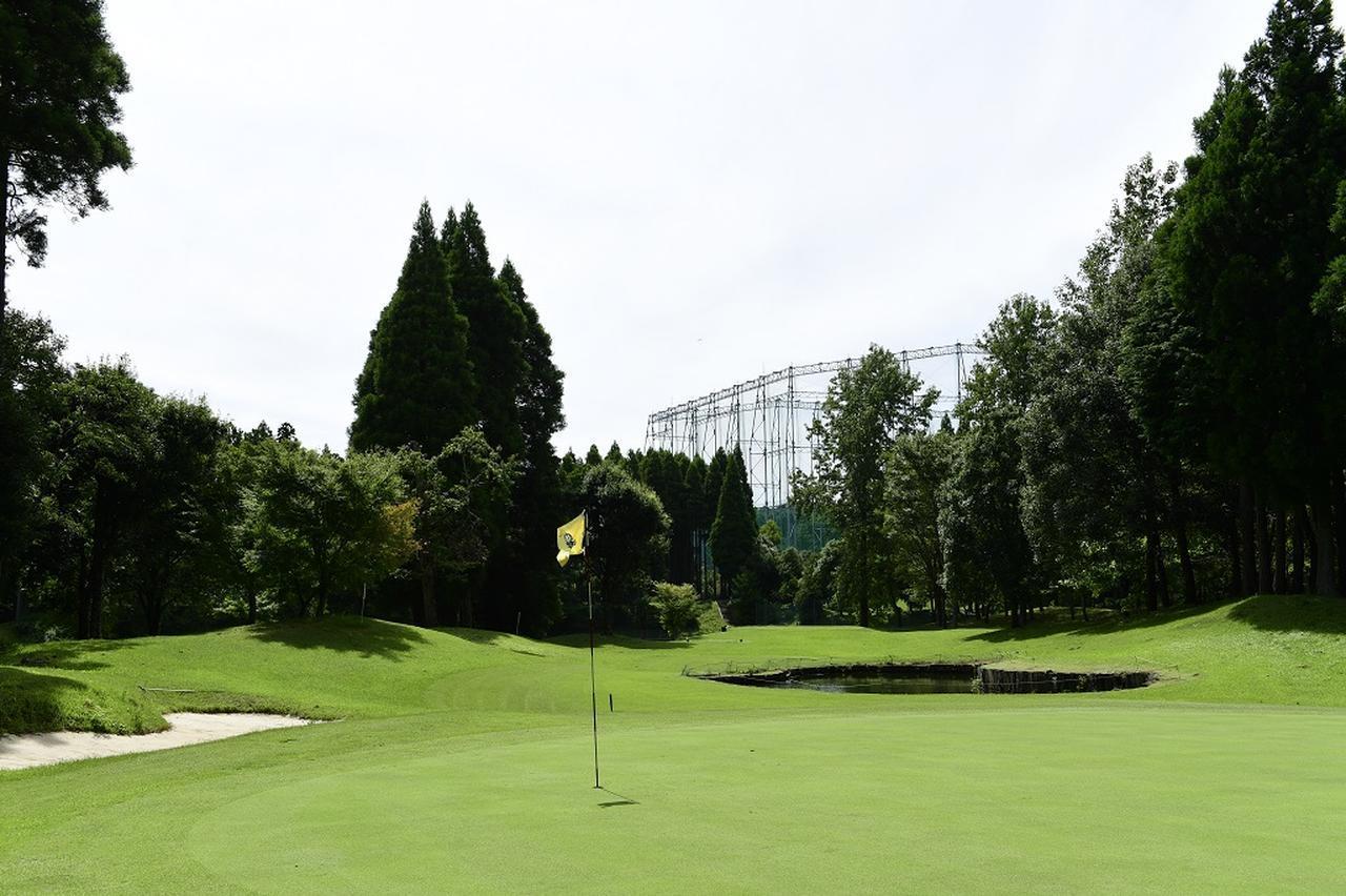 画像: グリーンはベント芝を採用。本コースと同じ条件で回ることができる
