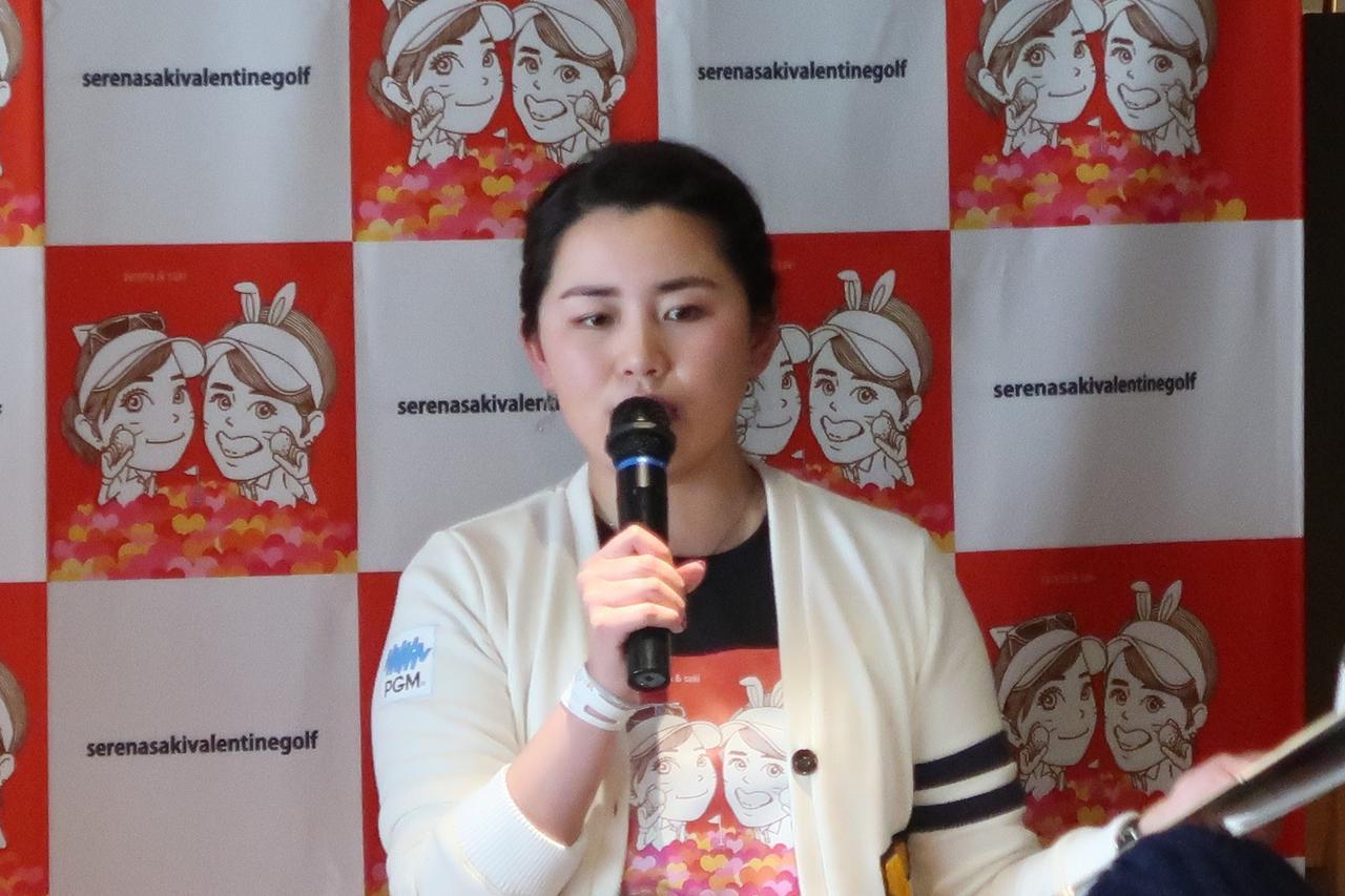 画像: 約3時間のイベントを1日で2回こなした岡村咲