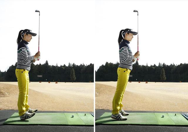 画像: 足の裏の前、後ろと体重のかかる位置を極端に動かしながら、体幹に力が入るポジションを探そう