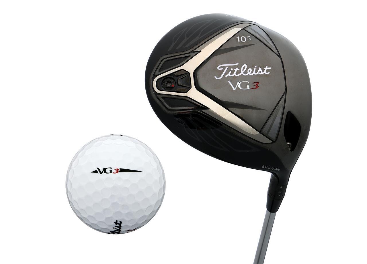 画像: 「VG3」ドライバーにマッチした打感で相性の良さを見せた「VG3」ボール