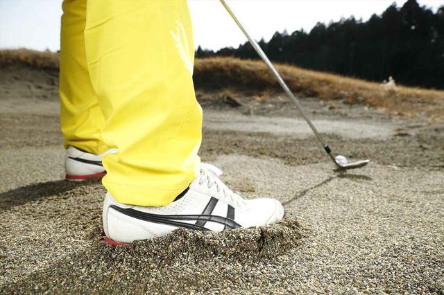 画像: 足の裏は、砂の状態を確認するための大事な「センサー」でもある