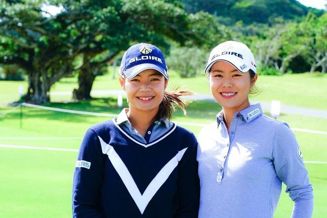 画像: 妹・杏佳(左)と姉・彩夏(右)の松森姉妹