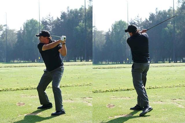 画像: 棒の先に重りの付いた練習器具をフルスウィングすることが47歳という年齢でもフルスウィングできる秘訣だ