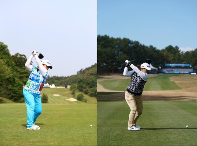 画像: 画像3:トップが高い位置に収まるアン(写真左)と低い位置に収まる鈴木(写真右)
