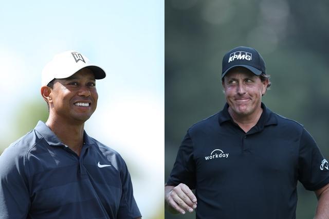 画像: タイガー(左)とミケルソン(右)の21世紀のゴルフ界を盛り上げたライバル対決はまだまだ続く
