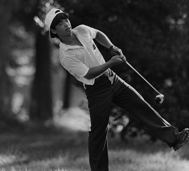 画像: ジュニア時代の伊澤利光(写真:日本ジュニアゴルフ選手権競技1985)