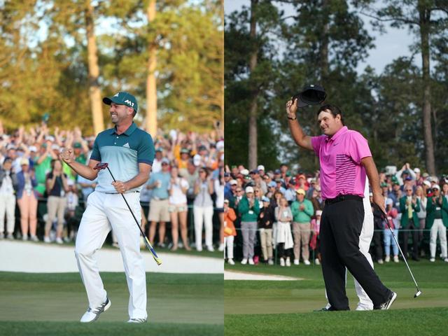 画像: 2017年のマスターズ王者・ガルシア(写真左)と今年の勝者・リード(写真右)の共通点は、パターのネック形状にあった(撮影/姉崎正)