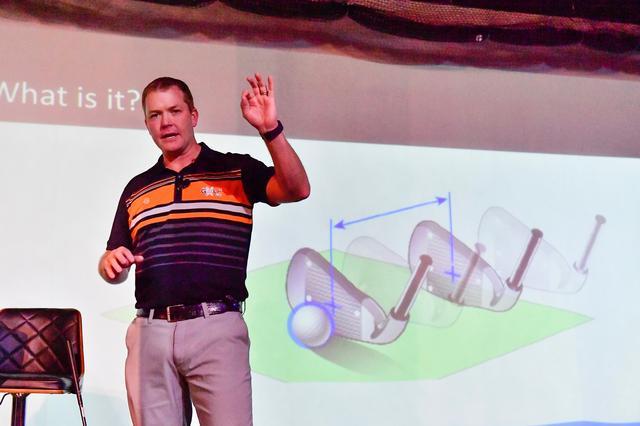 画像: 弾道解析器「GC4」の販売元であるフォーサイトの派遣で来日し、弾道解析器、飛球理論のセミナー「PEAK performance Education Analysis Knowledge」で講師を務めたリアム・マクロウ氏
