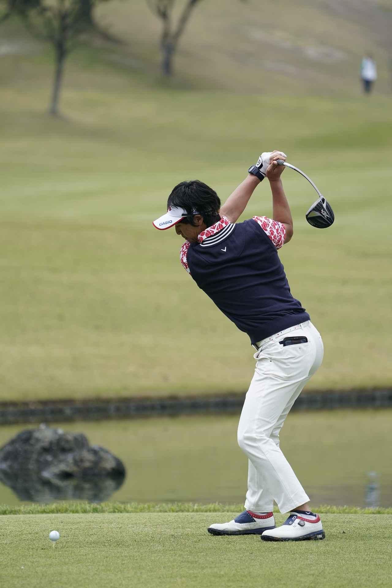 Images : 6番目の画像 - 石川遼ドライバー前方連続写真 - みんなのゴルフダイジェスト