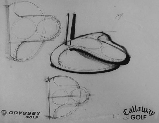 画像: 2ボールパターのイメージデッサン。ソールの曲線が大人気だった「ロッシー」のシェイプと同じ。(撮影/高梨祥明)