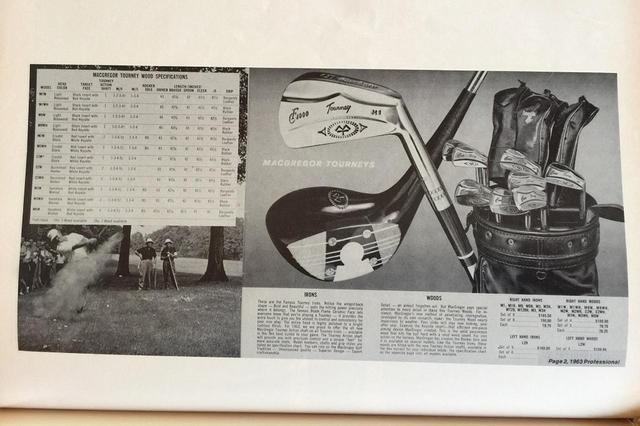 画像: 1930年代、ウッドは4本セットと3本セット。をアイアンは9本セットと8本セットで、値段設定があった。1本ずつでも買えたが、セットで買うのが当たり前だった