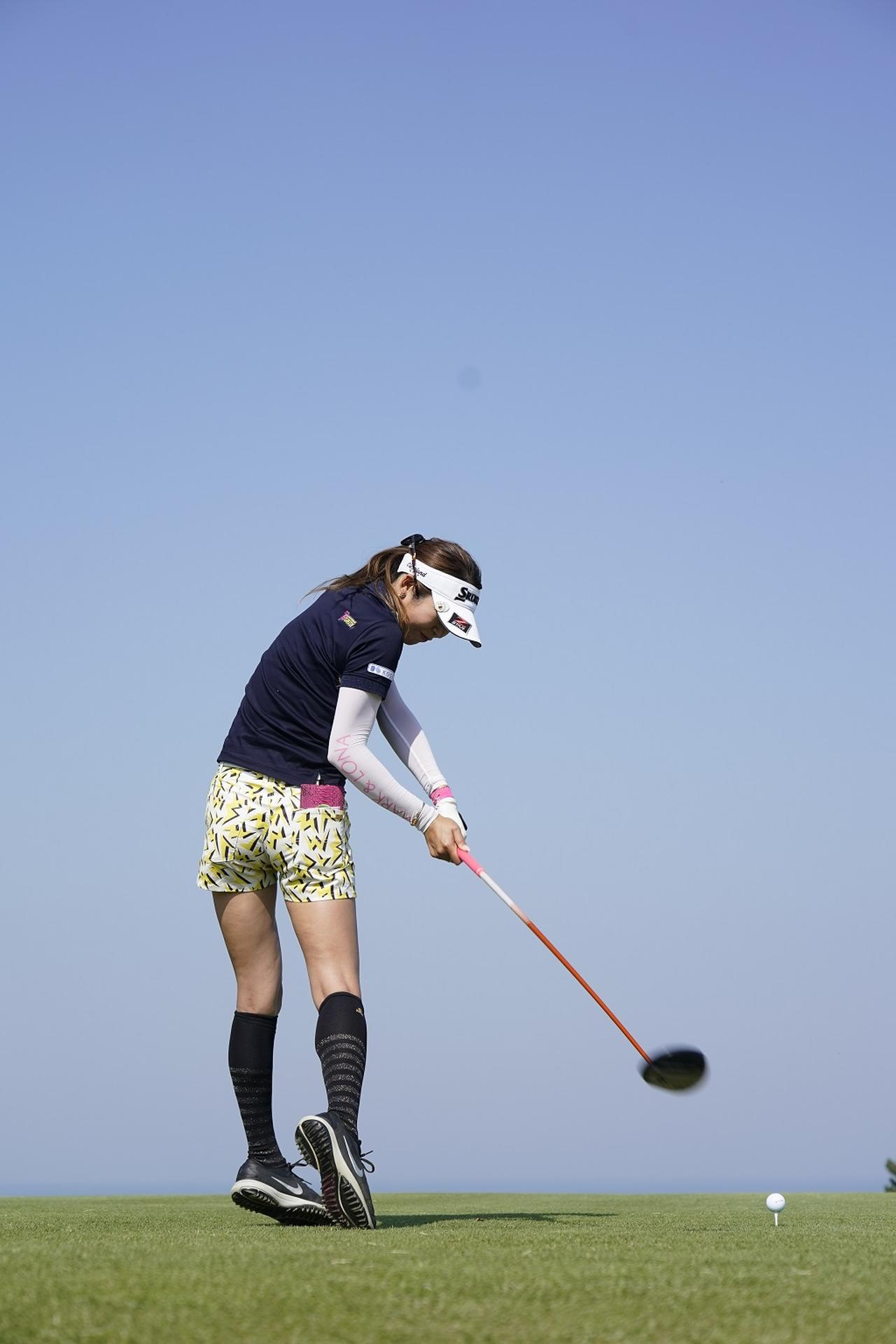 Images : 8番目の画像 - 金田久美子ドライバー後方連続写真 - みんなのゴルフダイジェスト