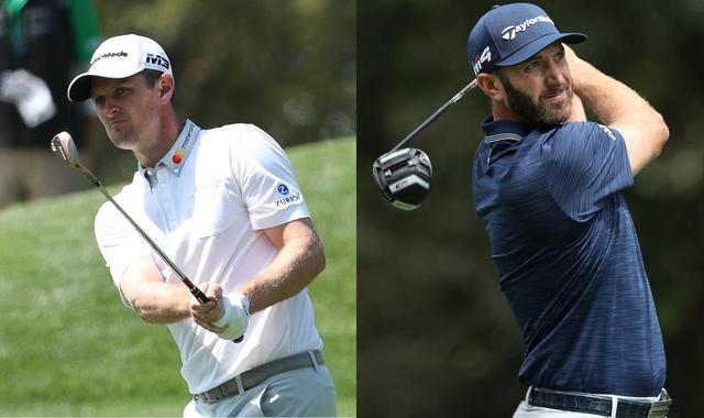 画像: ジョンソン(右)が1位を守り抜くか。世界ランク5位のローズ(左)まで、チャンスあり