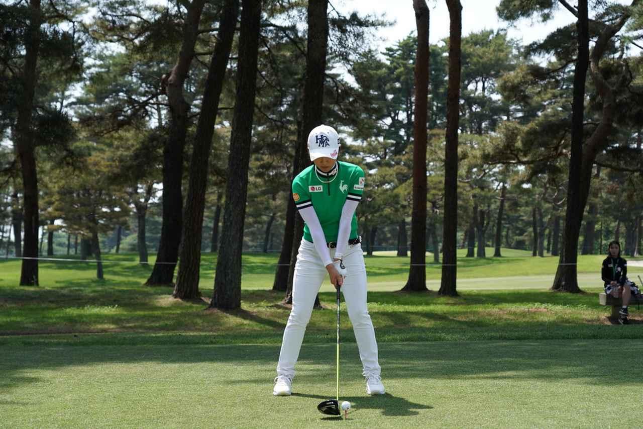 Images : 1番目の画像 - イ・ボミドライバー連続写真 - みんなのゴルフダイジェスト