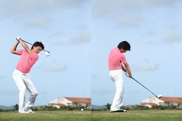 画像: ゴルフクラブはフェースが開くようにできているのだから、その動きを邪魔せずにしっかりとバックスウィングでフェースを開き、ダウンスウィングで返す。閉じるときのエネルギーを利用することで、より飛ばせるようになる