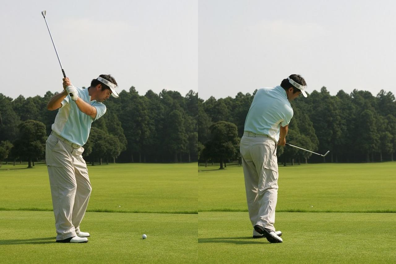 画像: ボールを打ち返すイメージがあると「あそこに打ち返そう」と目標意識が鮮明になるので、ボールを正確に運ぶスウィングが身につく