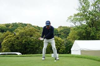 谷口徹のドライバー連続写真(写真/2018年の日本プロゴルフ選手権)
