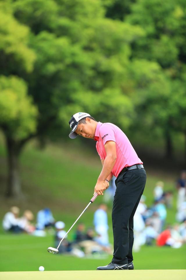 画像: タフな状況下でフェアウェイキープをし続け、プレーオフまであと1打に迫った(写真/2018年の日本プロゴルフ選手権)