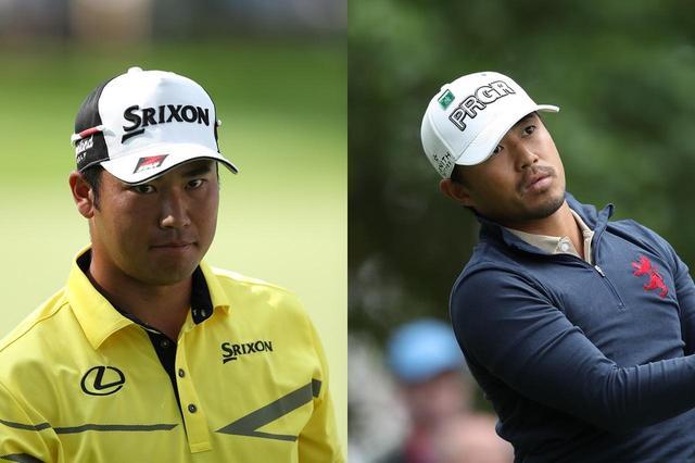画像: 米ツアーで初めて同組でプレーすることになった松山英樹(左)と小平智(右)。スタートダッシュを決めることができるか