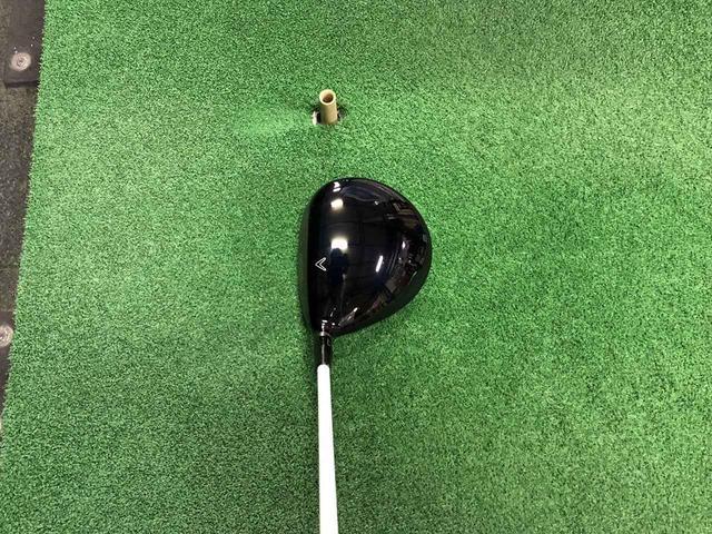 画像: 『GBB』は460ccヘッド。ドロー系のボールになりやすい特性だと児山は言う。