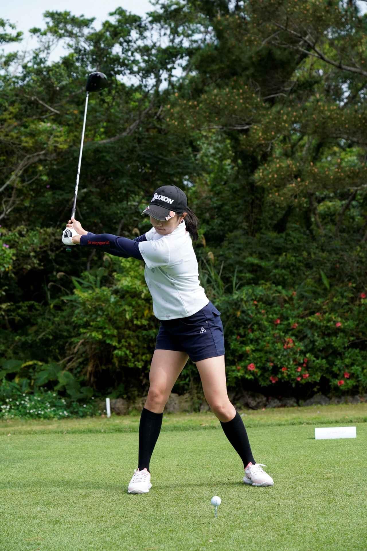 Images : 7番目の画像 - 三浦桃香のドライバー連続写真 - みんなのゴルフダイジェスト