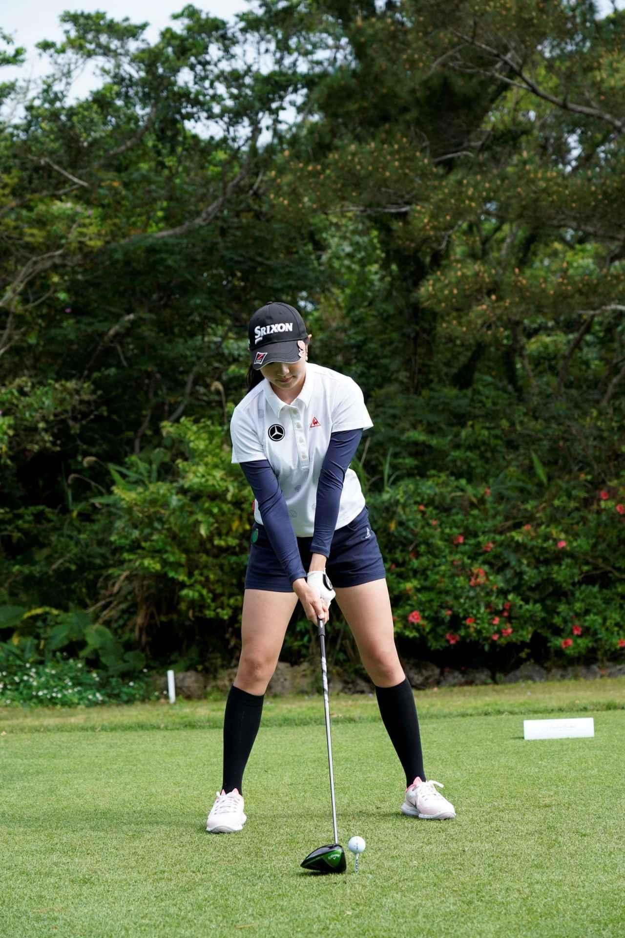 Images : 1番目の画像 - 三浦桃香のドライバー連続写真 - みんなのゴルフダイジェスト