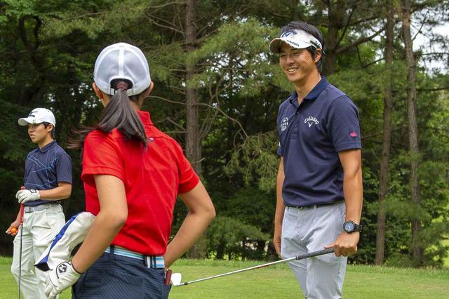 画像: 石川遼選手会長自ら、ジュニアたちと触れ合った(写真提供/大会事務局)