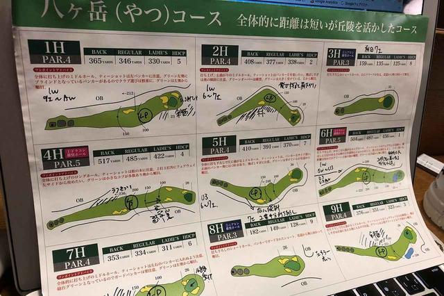 画像: 丘の公園清里ゴルフコース八ヶ岳コース。距離は決して長くないが、手強いホールが続く