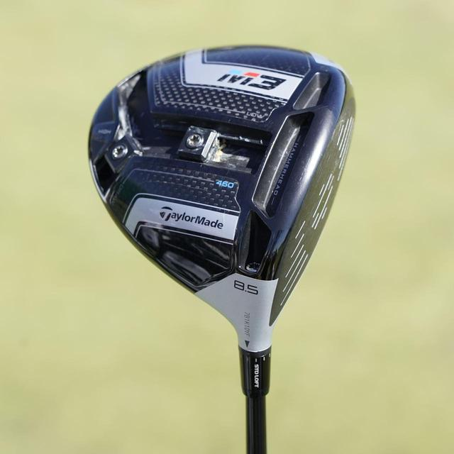 画像: M3 460の表示ロフト8.5度のヘッドを、1度立つポジションに調整している