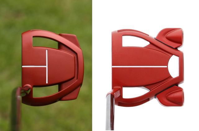 画像: ヘッドの大きさを15パーセント小型化している。左がスパイダーミニ、右がスパイダーツアー