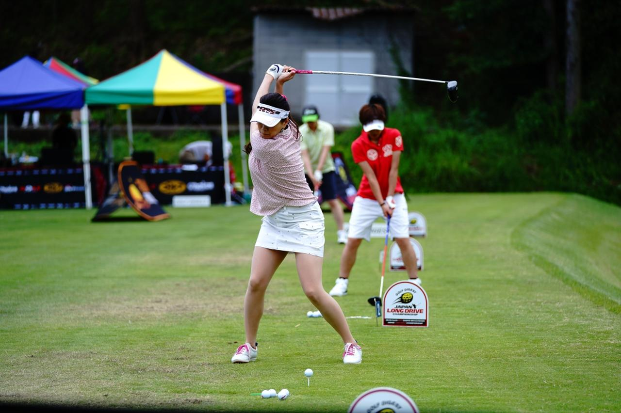 "Images : 8番目の画像 - ""日本一飛ばす受付嬢""林佳世子のドライバー連続写真 - みんなのゴルフダイジェスト"