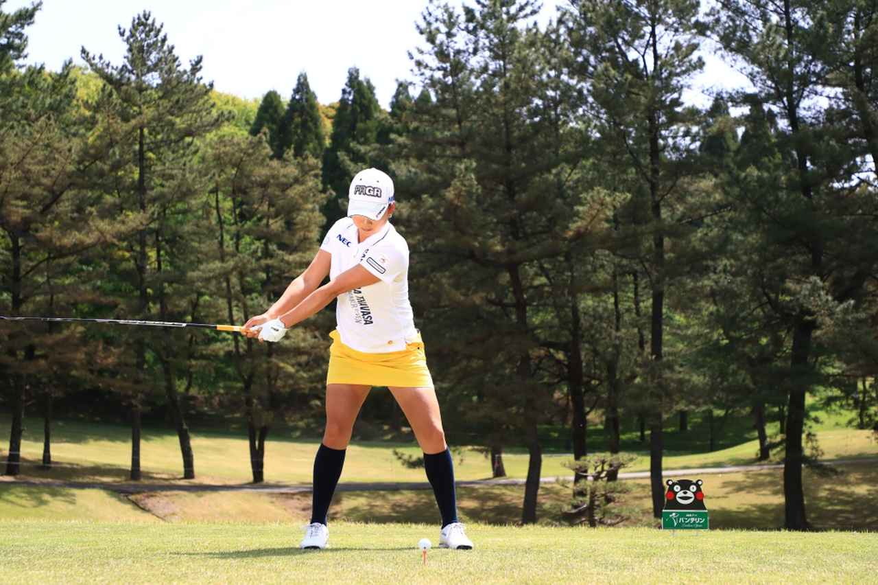 Images : 3番目の画像 - 原江里菜のドライバー連続写真 - みんなのゴルフダイジェスト