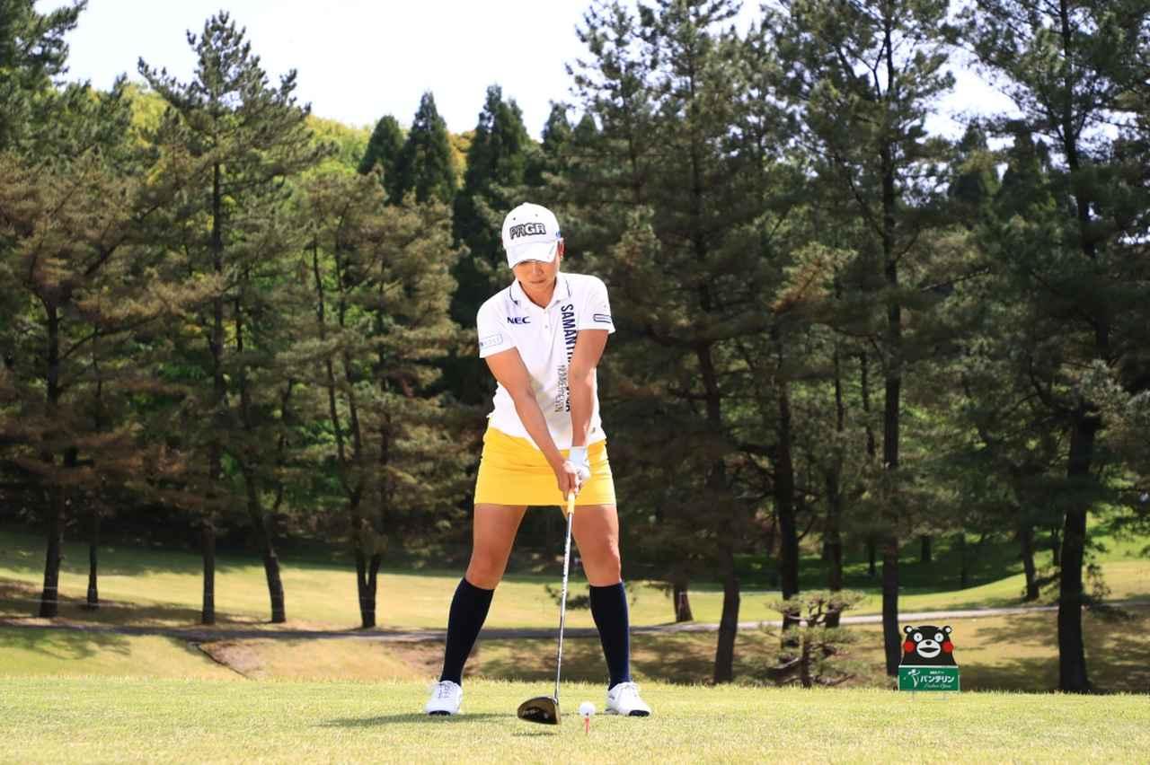 Images : 1番目の画像 - 原江里菜のドライバー連続写真 - みんなのゴルフダイジェスト