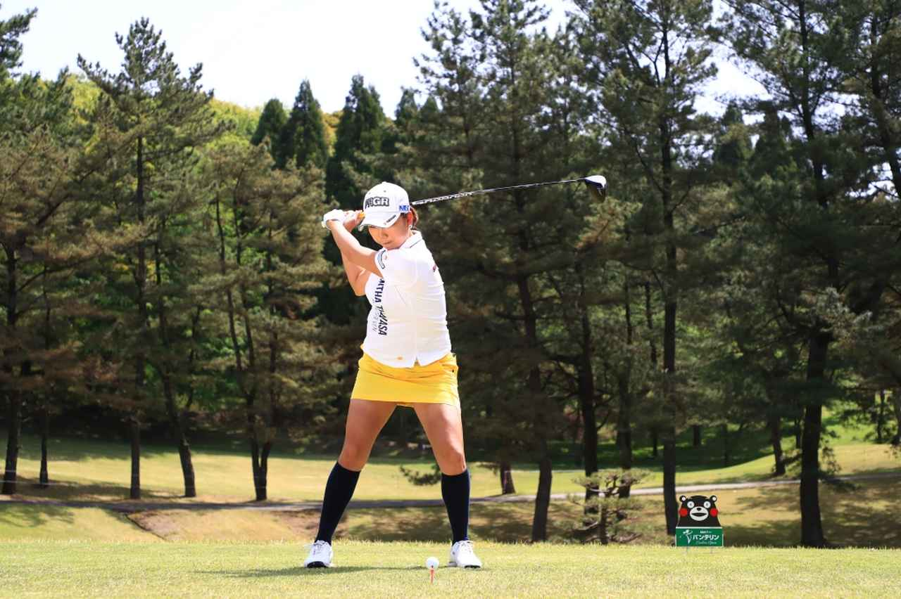 Images : 10番目の画像 - 原江里菜のドライバー連続写真 - みんなのゴルフダイジェスト
