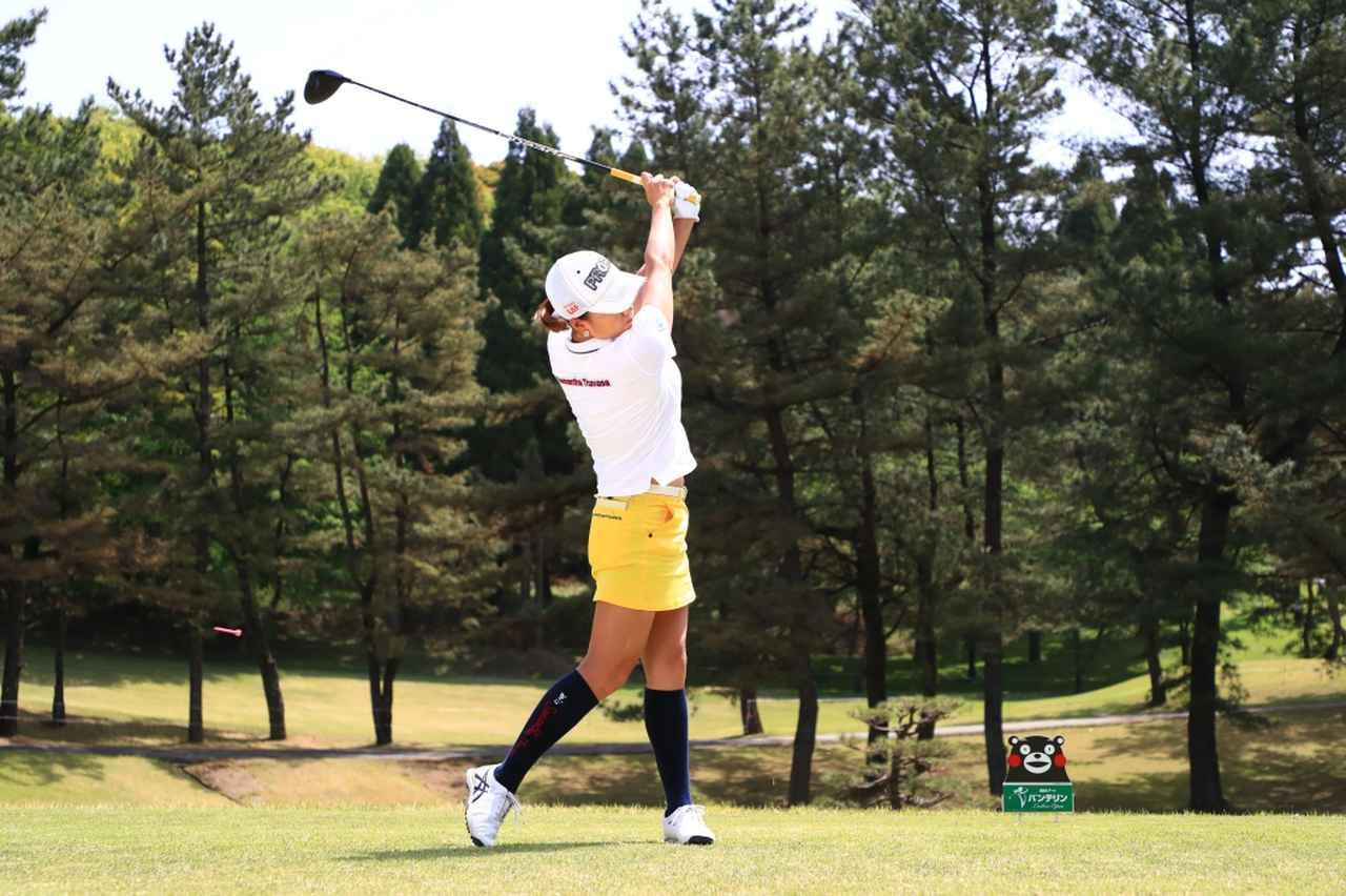 Images : 15番目の画像 - 原江里菜のドライバー連続写真 - みんなのゴルフダイジェスト