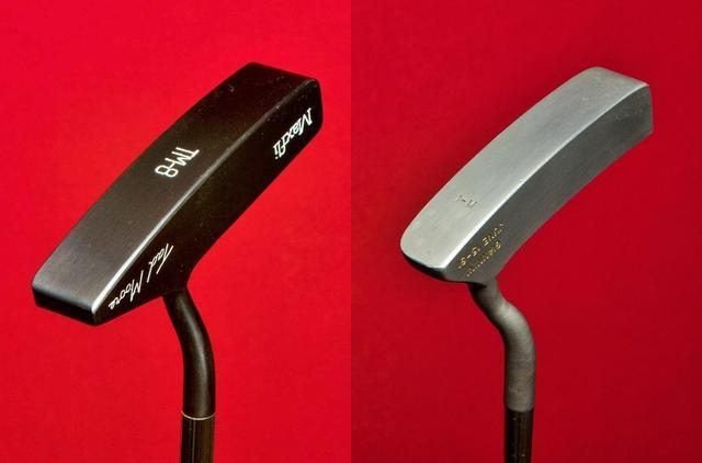 画像: 左:タッド・モア マックスフライ TM-8(1992年発売)、右:ケン・ジアニーニ ハンドメイド1(1991年発売)
