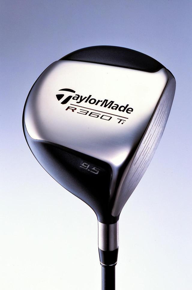 画像: 日本限定で発売されたテーラーメイドの「R360Ti」(2001年発売)。高反発モデルであり、ゴルファーの飛距離アップに一役買っていた