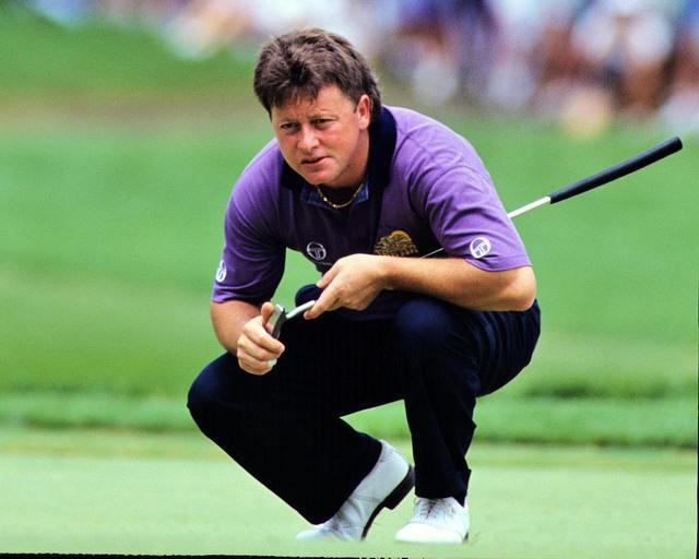 画像: イアン・ウーズナムは突如タッド・モアのパターを使用した(写真/1991年の全米オープン)