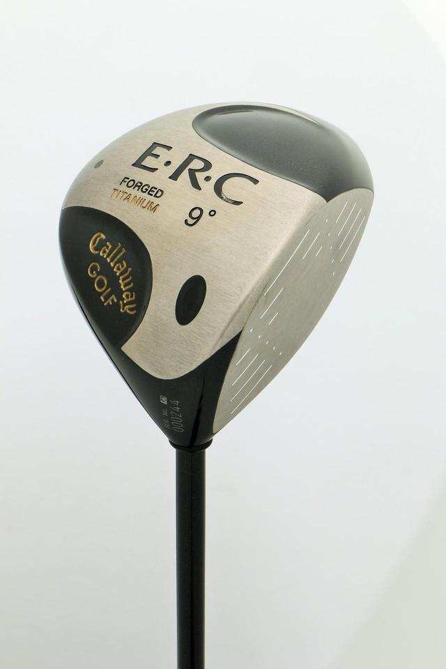 画像: ゴルファーから「つかまりすぎる」と言われたキャロウェイの「E.R.Cドライバー」(2000年発売)