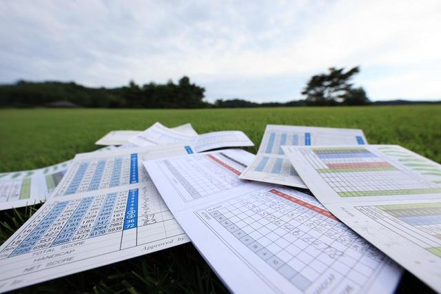 画像: スコアを書き込まず、ラウンドしてみるのもまたゴルフの楽しみの一つである