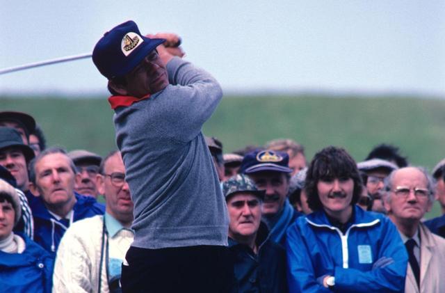 画像: スライス一筋で戦い続けた名選手、リー・トレビノ(写真は1980年の全英オープン)