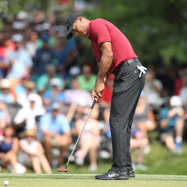 画像: パーオン時のパット数平均が1.33と、勝負強さを見せたタイガー(写真は2018年の全米プロゴルフ選手権 撮影/姉崎正)