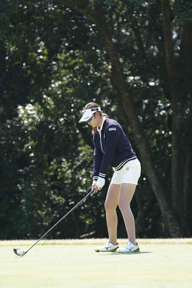 画像: 1番目の画像 - 原英莉花のドライバー連続写真 - みんなのゴルフダイジェスト