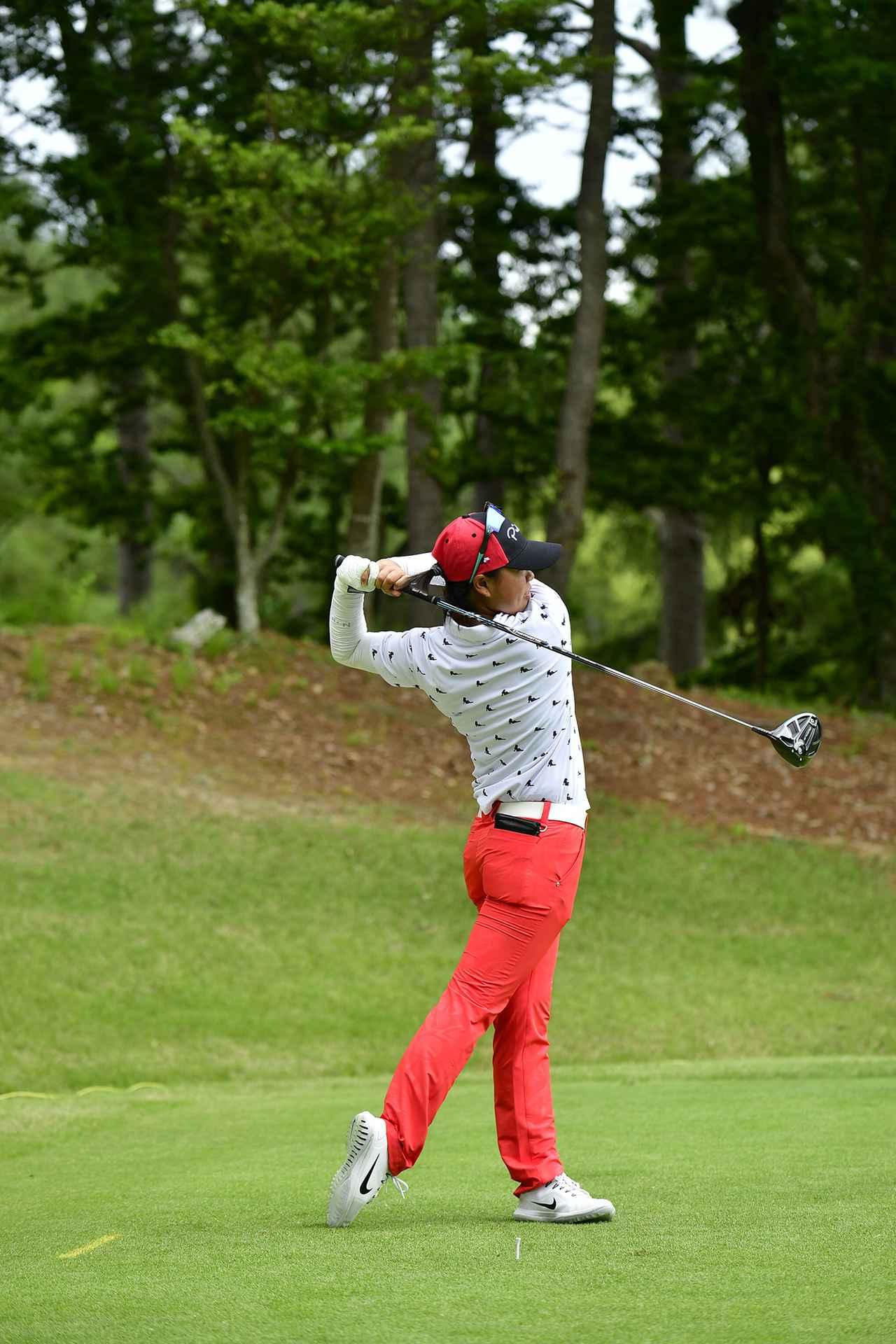 6番目の画像 - 笹生優花のドライバー連続写真 - みんなのゴルフダイジェスト