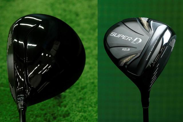 画像: ヘッド体積485ccのトブンダ「SUPER-D BLACK」はヘッドスピード42m/sまでのゴルファー向けモデル。7万4065円+税