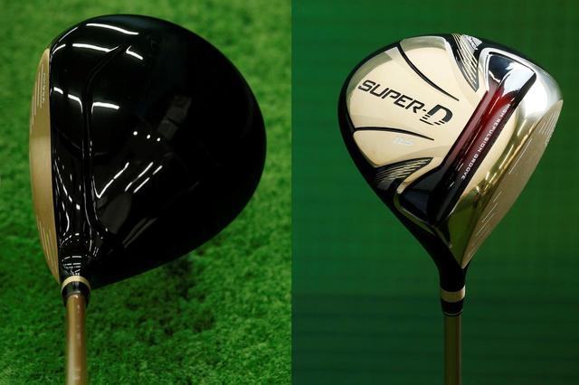 画像: ヘッド体積485ccのトブンダ「SUPER-D GOLD」はヘッドスピード~38m/sのゴルファー向けモデル。7万4065円+税