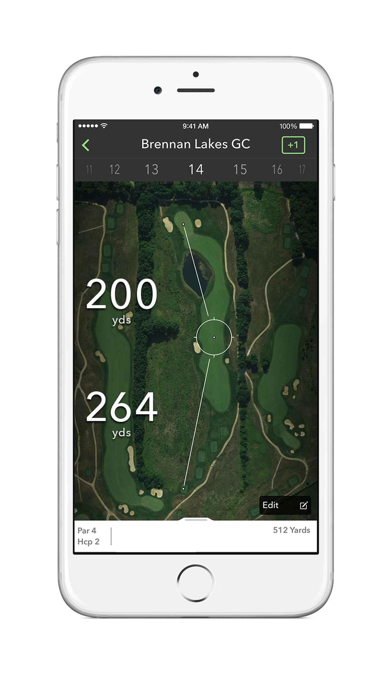 画像: グリップエンドに内蔵された「COBRACONNECT」が、ラウンド中の飛距離データを計測することで、パフォーマンス向上を助ける