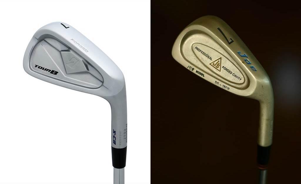 画像: 「X-CB」(写真左)に尾崎直道のプロモデル「ジョーキャビティ」(写真右)と似た印象を抱いた中村