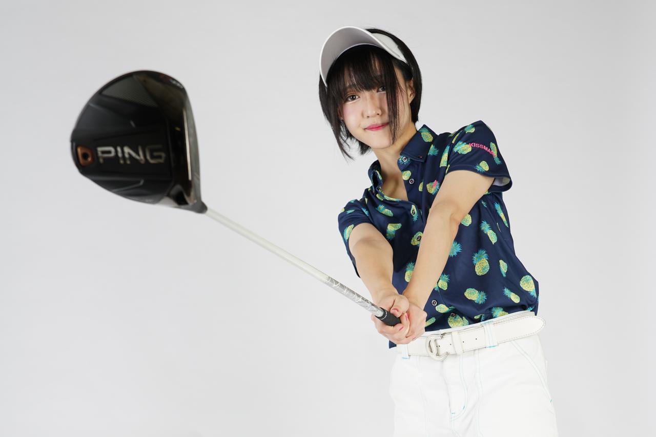 画像: 小学生のときから始めたゴルフ。ベストスコアは「69」の腕前